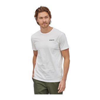 M's P-6 Logo Organic T-Shirt Homme White