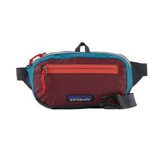Ultralight Black Hole Mini Hip Pack Unisexe Patchwork: Roamer Red