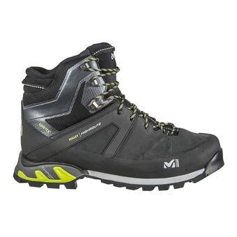 Millet HIGHROUTE GTX - Hiking Shoes - Men's - black/acid green