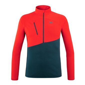 ELEVATION ZIP LS M Homme ORION BLUE/FIRE