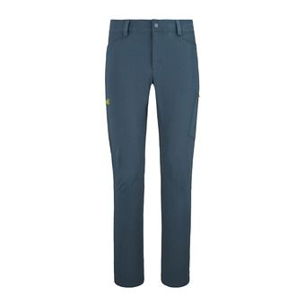 WANAKA STRETCH PANT M Homme ORION BLUE/WILD LIME