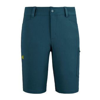 WANAKA STRETCH SHORT M Homme ORION BLUE/WILD LIME
