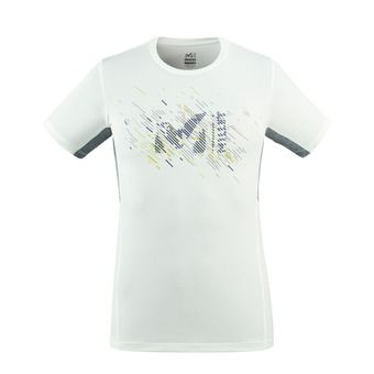 LTK PRINT LIGHT TS SS M Homme MOON WHITE