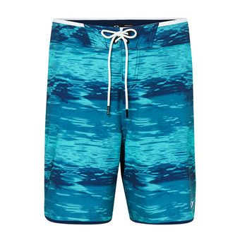 WATER BOARDSHORT 19 Homme Blue Water Print