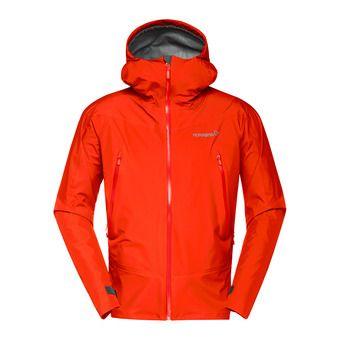 falketind Gore-Tex Jacket (M) Pureed PumpkinHomme