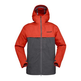 svalbard cotton Jacket (M) Rooibos Tea/Slate Grey Homme