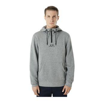 BARK HALF ZIP HOODIE Homme Athletic heather grey
