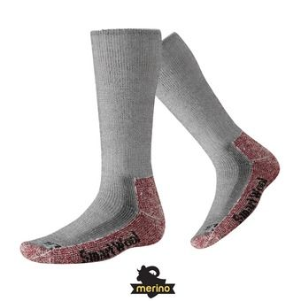 Chaussettes homme MOUNTAINEERING EXTRA HEAVY CREW charcoal heather