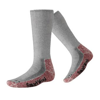 Smartwool MOUNTAINEERING EXTRA HEAVY CREW - Socks - charcoal heather