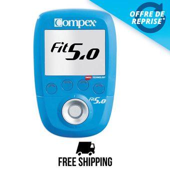 Compex FIT 5.0 WIRELESS - Électrostimulateur bleu