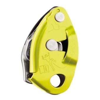 Asegurador-descensor GRIGRI 2 amarillo