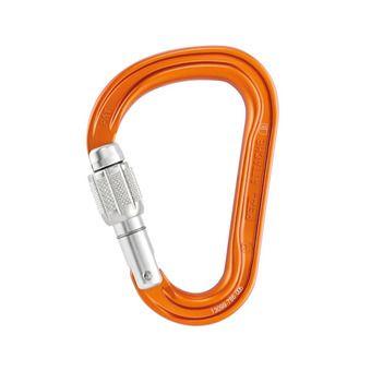 Mousqueton ATTACHE SCREW-LOCK orange