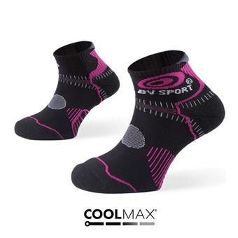 Calcetines de trail mujer STX negro/fucsia