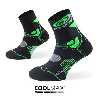 Calcetines de trail STX+ negro/verde