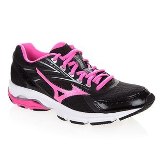 Zapatillas running mujer WAVE ADVANCE 2 black/electric/silver