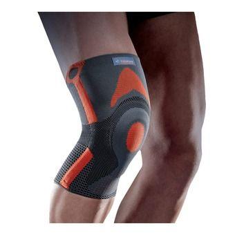 Reinforced knee cap brace
