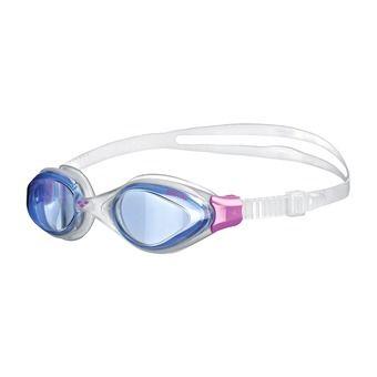 Lunettes de natation femme FLUID blue/clear/fuschia