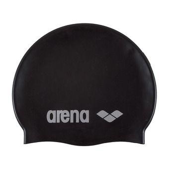 Arena CLASSIC SILICONE - Bonnet de bain black/silver