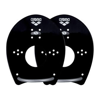 Arena ELITE HAND - Plaquettes black/silver
