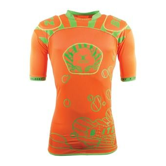 Gilbert BLITZ - Épaulière Homme orange/green