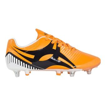 Botas rugby hombre IGNITE FLY naranja