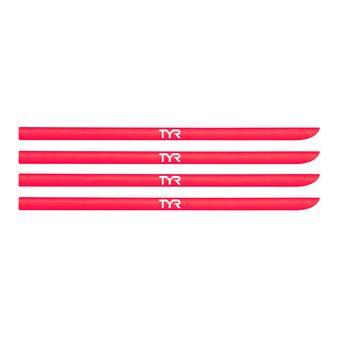 Lot de 4 élastiques pour plaquettes TYR fluo pink