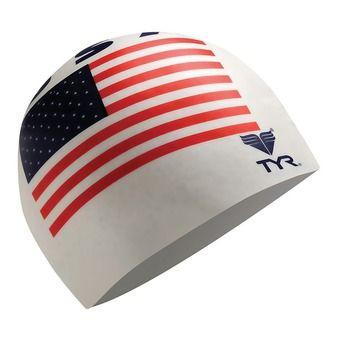 Tyr USA - Bonnet de bain white