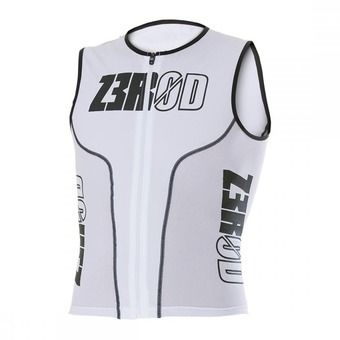 Z3Rod ISINGLET - Triathlon Jersey - Men's - white armada