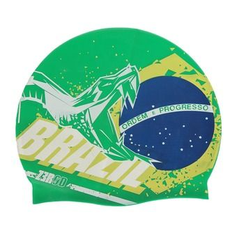 Bonnet de bain NATIONAL PRIDE brasil