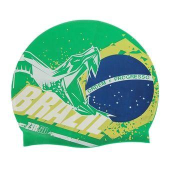 Bonnet de bain NATIONAL PRIDE brazil