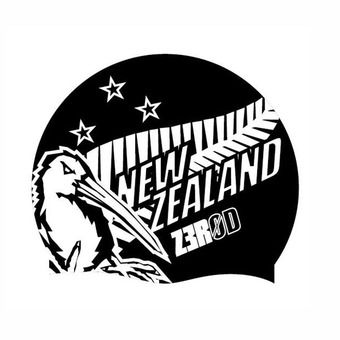 Z3Rod NATIONAL PRIDE - Gorro de natación new zealand