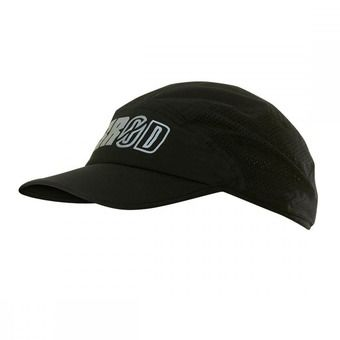 Gorra RUNNING black series black/white