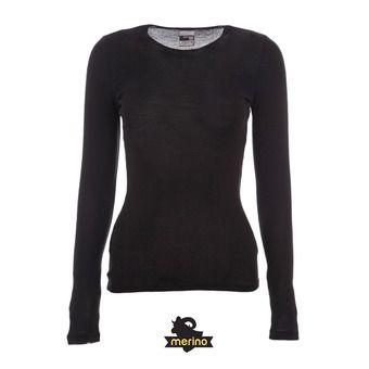 Camiseta térmica mujer EVERYDAY black