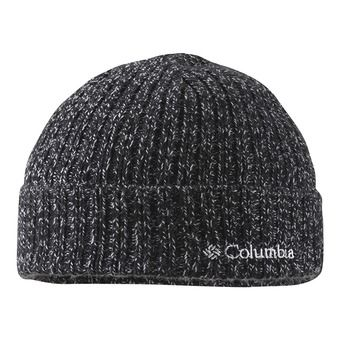 Columbia WATCH II - Gorro black/white marled