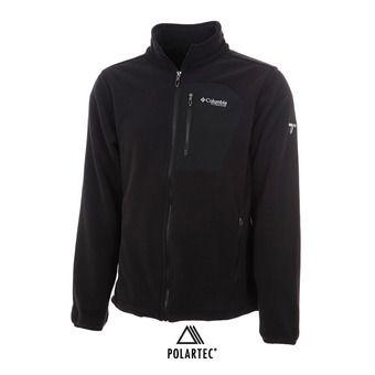 Polaire zippée homme TITAN PASS 2.0™ black