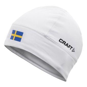 Bonnet thermique NATION blanc/Suède