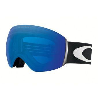 Masque de ski FLIGHT DECK matte black/prizm sapphire iridium®