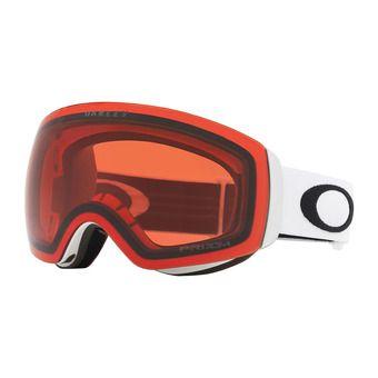 Oakley FLIGHT DECK XM - Gafas de esquí matte white/prizm rose