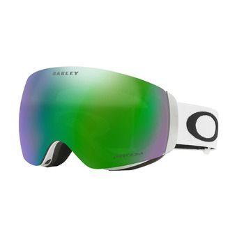 Masque de ski FLIGHT DECK XM matte white/prizm jade iridium