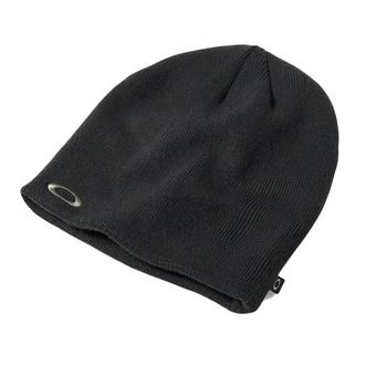 Bonnet homme FINE KNIT jet black