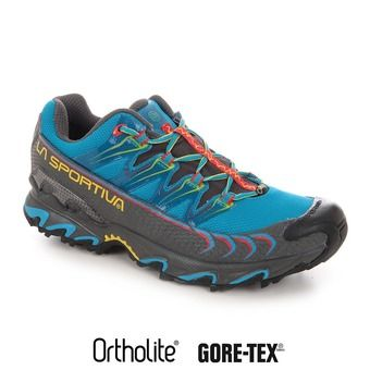 Calcetines trail hombre ULTRA RAPTOR GTX blue/red