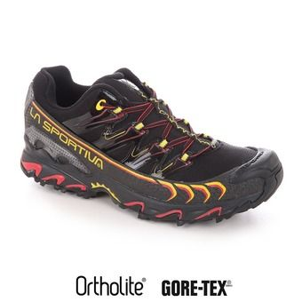 Zapatillas de trail hombre ULTRA RAPTOR GTX black/yellow