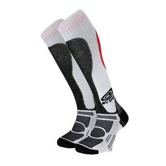 Ski socks - SLIDE EXPERT blanc