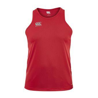 Canterbury CORE VAPODRI POLY - Camiseta de tirantes hombre flag red