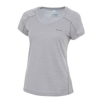 Camiseta mujer ZERO RULES™ columbia grey heather