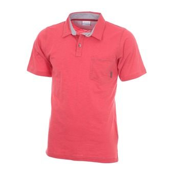 Polo hombre LOOKOUT POINT sunset red