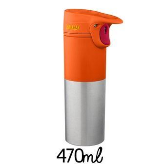 Mug isotherme 470ml FORGE DIVIDE mango tango