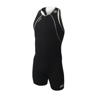 Z3Rod USUIT FRONT ZIP - Trisuit - Men's - black/white