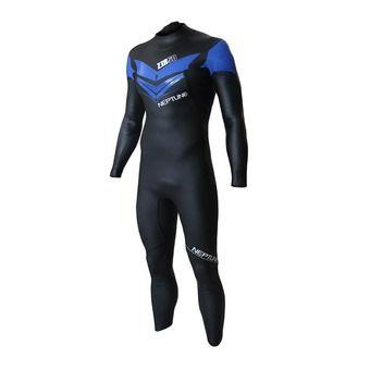 Combinaison triathlon homme NEPTUNE black/blue