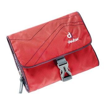 Trousse de toilette WASH BAG I rouge/aubergine